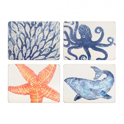 Creatures Placemats Set/4: click to enlarge