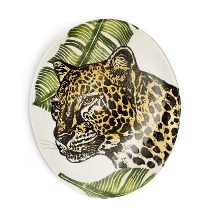 Oval Platter Cheetah: click to enlarge