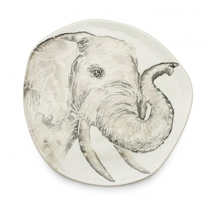 Platter Elephant: click to enlarge