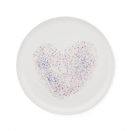 Heart Dinner Plate: click to enlarge