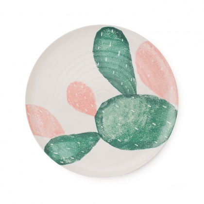 Prickly Pear Dinner Plate: click to enlarge