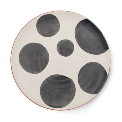Spots Charcoal Platter: click to enlarge