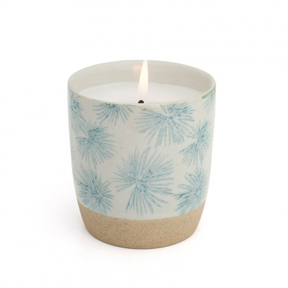 Scented Candle Palm Blue: click to enlarge