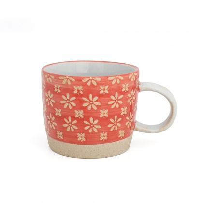 Mug Flower Red: click to enlarge