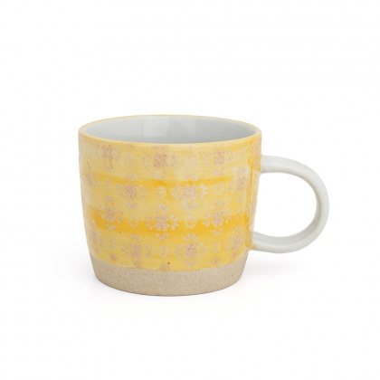 Mug Lace Yellow: click to enlarge