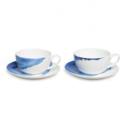 Cappuccino Cup & Saucer Set/2: click to enlarge