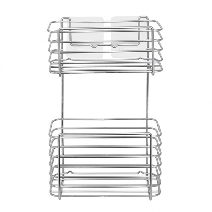 Wire Rectangular Basket 2 Tier: click to enlarge