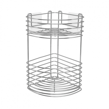 Wire Corner Basket 2 Tier: click to enlarge