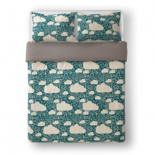 Rainy Day Bed Linen Green