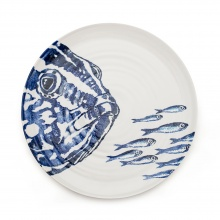 Platter Big Fish Little Fish Blue