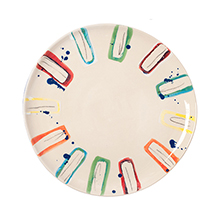 Multicolour Side Plate