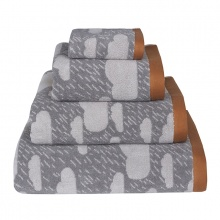 Rainy Day Towels Grey