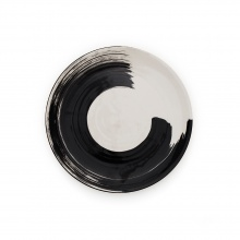 Swish Charcoal Side Plate