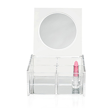 4 Compartment Box With Mirror