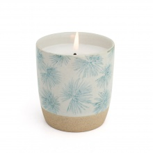 Scented Candle Palm Blue