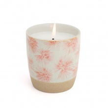 Scented Candle Palm Pink