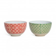Small Bowl Patterned Set/2