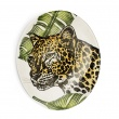 Oval Platter Cheetah