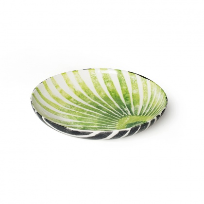 Serving Bowl Fan Palm/Zebra: click to enlarge