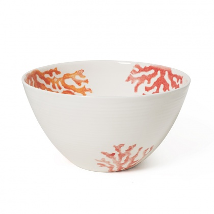 Salad Bowl Coral Red: click to enlarge