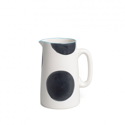 Spots Charcoal Jug Small: click to enlarge