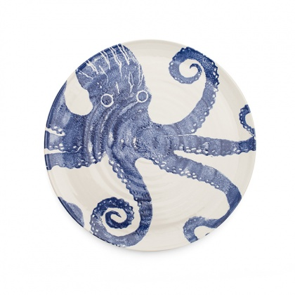 Octopus Platter Blue: click to enlarge
