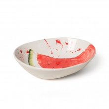 Water Melon Supper Bowl