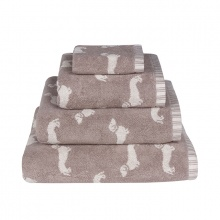 Dachshund Towels Brown